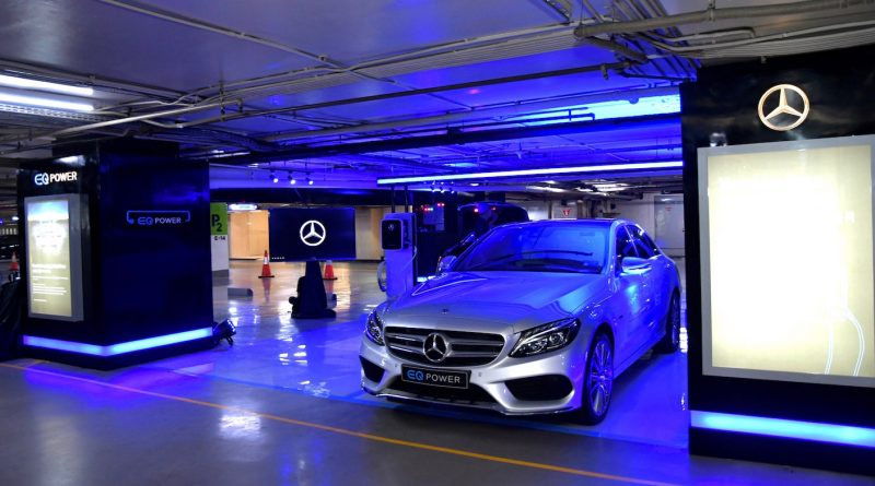 Mercedes-Benz EQ Power Charging Station di Plaza Indonesia (1)