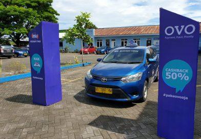 OVO dan Bosowa Taksi Hadirkan Terobosan Transaksi Non Tunai di Makassar