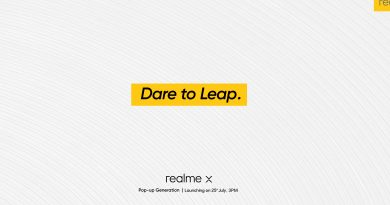 Realme X Launch Date