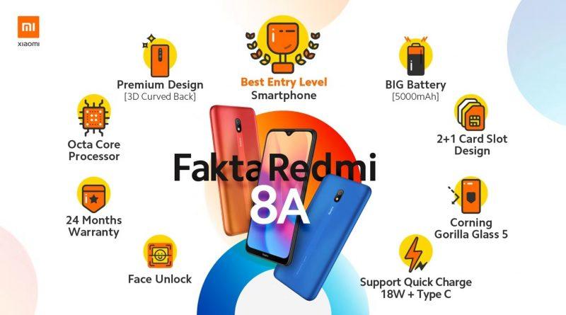 Infographic Redmi 8A