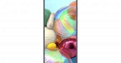 Samsung Galaxy A71 Front Look