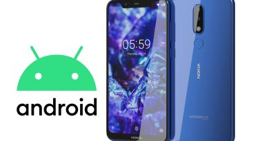 Nokia 5.1 Plus android 10