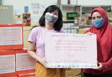 Orami Community Donasikan 1000 Paket Sembako serta Kebutuhan Bayi dan Anak