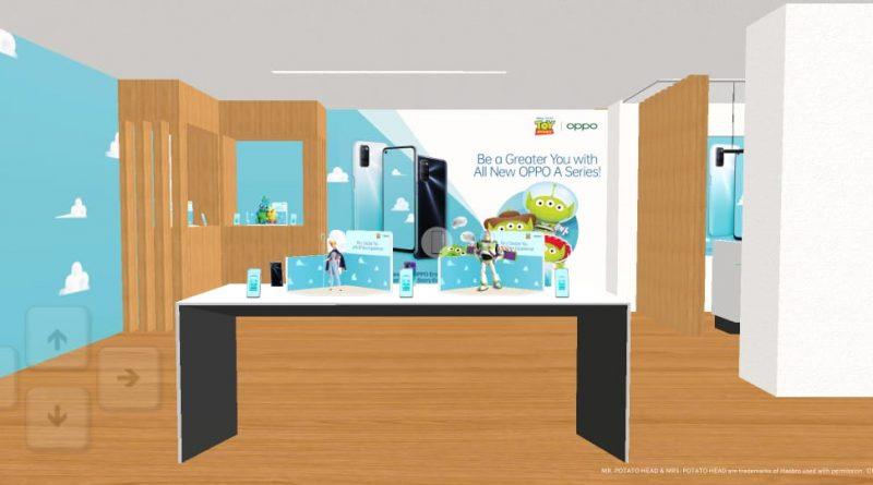 Virtual OPPO Store