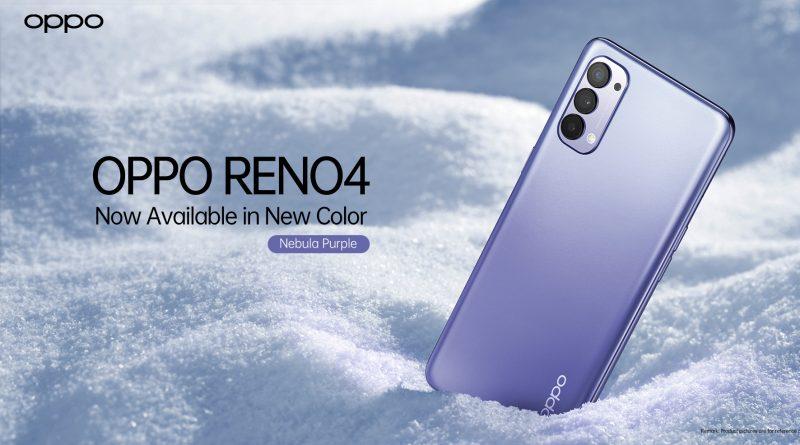 Reno4 Nebula Purple Landscape