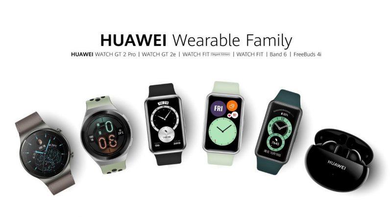 Untuk Aktivitas Harian, Huawei Miliki Jajaran Perangkat Wearable
