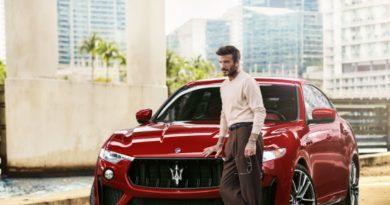 David Beckham Jadi Duta Besar Maserati