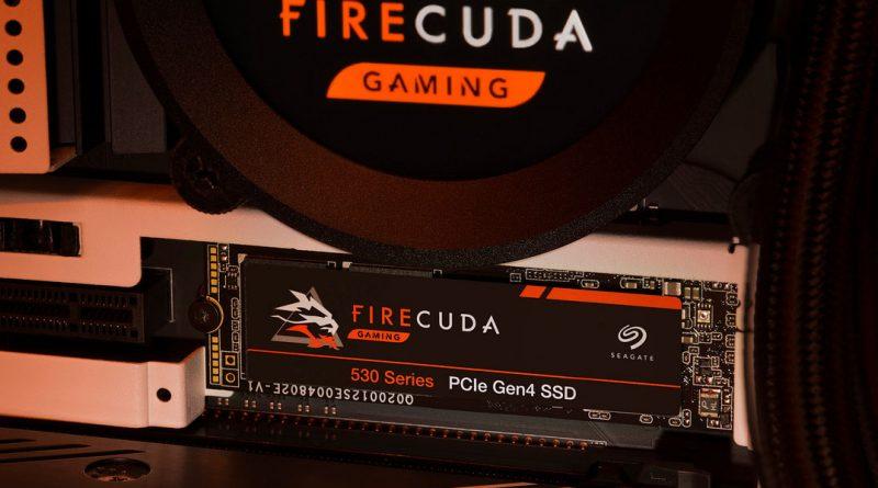 Seagate Hadirkan FireCuda 530 PCIe Gen4 NVMe SSD