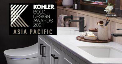 Kembali, Para Desainer dan Arsitek Ditantang untuk Kompetisi Kohler Bold Design Awards Asia pacific 2021