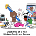 LINE Stickers Berpartisipasi dalam Pelatihan IP Kreatif pada Ajang Katapel MAYA 2021